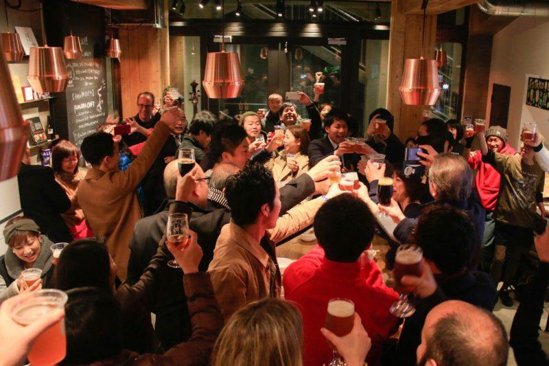 ふたこビール醸造所1周年